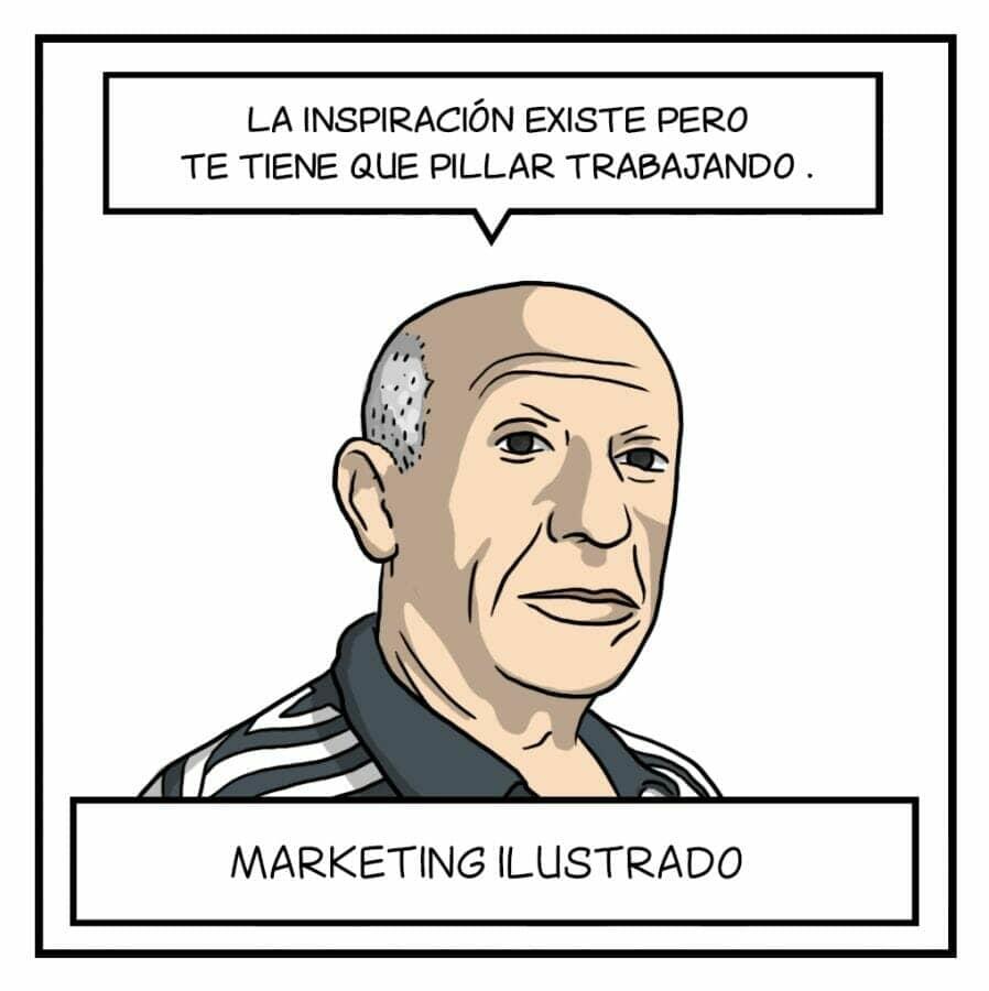 Marketing Ilustrado con Picasso