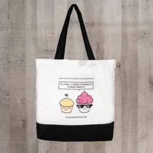 Tote bag plus de magdalena y cupcake- branding